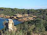 Tipaza, Algeria: Ruins of the Roman town on the Mediterranean coast