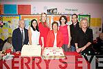 Cillín Liath N.S. celebrated their 40th anniversary on Friday night last, pictured here l-r; Donnacha O Fiannachta(Principal 1983-2010), Elaine Ní Sheoigh(Teacher). Seána Ní Chuain(Principal), Caitlín Ní Shé(Teacher 1973-1997), Caroline Uí Dhálaigh(Learning Support), Deaglán Ó Súilleabháin(Past Pupil) & Eistir Nic Amhlaoibh(Teacher).
