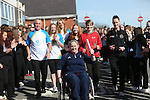 Sport Your Trainers Day at Bryn Celynnog School.<br /> <br /> 10.03.14<br /> <br /> ©Steve Pope-SPORTINGWALES