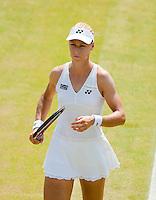 29-6-09, England, London, Wimbledon, Elena Vesnina