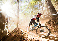 Picture by Alex Broadway/SWpix.com - 08/09/17 - Cycling - UCI 2017 Mountain Bike World Championships - Downhill - Cairns, Australia - Joe Parfitt of Great Britain in action during a practice session.