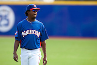 7 March 2009: Pedro Martinez of the Dominican Republic is seen prior a game during the 2009 World Baseball Classic Pool D match at Hiram Bithorn Stadium in San Juan, Puerto Rico. Netherlands pulled off a huge upset in their World Baseball Classic opener with a 3-2 victory over Dominican Republic.