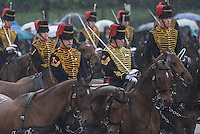 18 May 2016 - London England - Royal Cavalry during the State Opening of Parliament in London. The State Opening of Parliament marks the formal start of the parliamentary year and the Queen's Speech sets out the government's agenda for the coming session. Photo Credit: ALPR/AdMedia