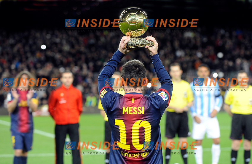 Lionel Messi (Barcelone)  .Football Calcio 2012/2013.Coppa del Re - King's Cup Spagna.Foto Panoramic / Insidefoto .ITALY ONLY