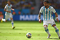 Ezequiel Lavezzi (ARG), JULY 5, 2014 - Football / Soccer : FIFA World Cup Brazil 2014 Quarter-finals match between Argentina 1-0 Belgium at Estadio Nacional in Brasilia, Brazil. (Photo by FAR EAST PRESS/AFLO)