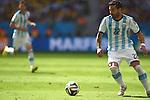 Ezequiel Lavezzi (ARG), JULY 5, 2014 - Football / Soccer : FIFA World Cup Brazil 2014 Quarter-finals match between Argentina 1-0 Belgium at Estadio Nacional in Brasilia, Brazil. (Photo by FAR EAST PRESS/AFLO)