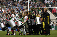 Twickenham, Great Britain. Pre game entertainment, during the 2007 Heineken Cup Final, between Leicester Tigers and London Wasps. RFU Stadium, London,  Sun 20.05.2007. [Credit: Peter Spurrier/Intersport Images]   [Mandatory Credit, Peter Spurier/ Intersport Images].
