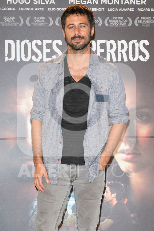 "Hugo Silva attends the ""DIOSES Y PERROS "" Movie presentation at Kinepolis Cinema in Madrid, Spain. October 6, 2014. (ALTERPHOTOS/Carlos Dafonte)"