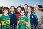 Pictured at the Kerry Minor home coming at Kilcummin GAA pitch on Monday night last, were l-r: Billy O'Sullivan (Abbeyfeale), Aileen O'Sullivan (Ballydonoghue) with Éva O'Sullivan, Keelin O'Sullivan Adam O'Sullivan (Abbeyfeale) with Eileen O'Sullivan and John O'Sullivan (Ballydonoghue).