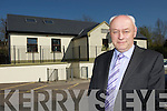 Knockanes NS former Principal Danny Doherty outside the school on Tuesday..