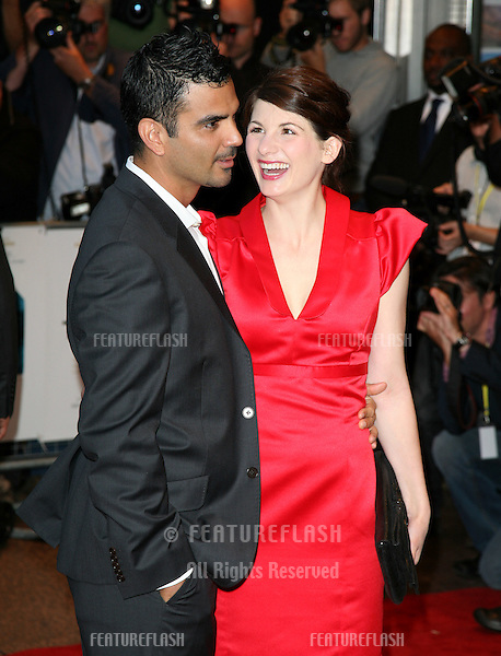 Jodie Whittaker and Christian Contreras attends 'The Kid' UK premiere at the Odeon West End, Leicester Square, London. 15/09/2010  Picture by: Alexandra Glen / Featureflash
