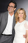 HOLLYWOOD, CA - AUGUST 28: Jeffrey Dean Morgan and Kyra Sedgwick arrive at the 'The Possession' - Los Angeles Premiere at ArcLight Cinemas on August 28, 2012 in Hollywood, California.