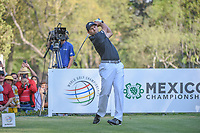 Sergio Garcia (ESP) watches his tee shot on 18 during round 3 of the World Golf Championships, Mexico, Club De Golf Chapultepec, Mexico City, Mexico. 3/3/2018.<br /> Picture: Golffile | Ken Murray<br /> <br /> <br /> All photo usage must carry mandatory copyright credit (&copy; Golffile | Ken Murray)