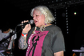 PSYCHIC TV - Genesis P-Orridge - performing live at Brixton Jamm in London UK - 07 Nov 2016.  Photo credit: Zaine Lewis/IconicPix
