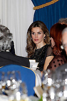 Spanish Royals Attend 'Francisco Cerecedo' Journalism Award 2012