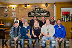 A BLITZ TO REMEMBER: Pictured at the annual Dan Joe Sweeney Memorial 31 card blitz held in the Coachman's Bar in Kenmare are l-r back row Martin Riney, Dan Sweeney, Padraig Jones and Rob Morris.  Front row: Con Delahunty, Sean O'Connor, Mary Clare Cremin, Peter Sweeney and Paul Crowley.  The eventual winning partners of the charity tournament were Paul Crowley and Rob Morris.