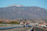 Nov 17, 2019; Pomona, CA, USA; Overall view of Auto Club Raceway at Pomona during the NHRA Auto Club Finals. Mandatory Credit: Mark J. Rebilas-USA TODAY Sports