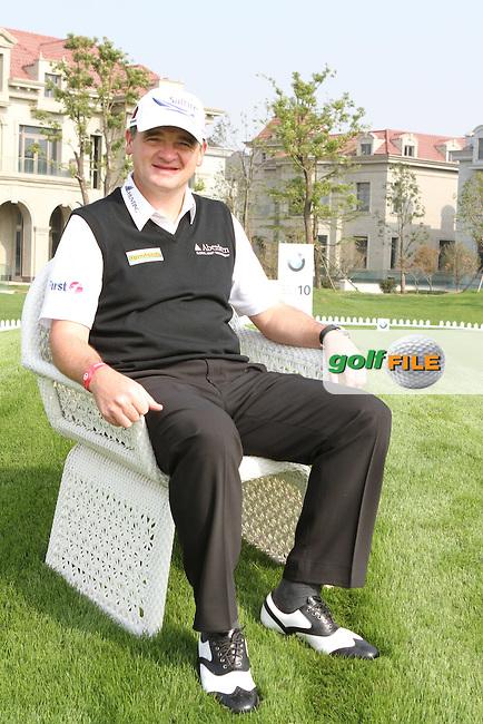 Paul Lawrie (SCO) on Wednesdays ProAm Day ahead of the BMW Masters 2012 at Lake Malaren Golf Club, Shanghai, China, Tuesday 24/10/12...(Photo Jenny Matthews/www.golffile.ie)