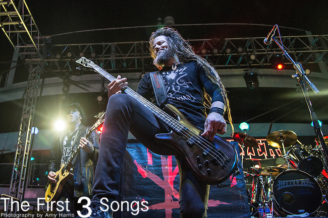 Kyle Sanders of Hell Yeah performs during the 2016 ShipRocked Cruise. ShipRocked set sail January 18-22, 2016, from Miami to Costa Maya, Mexico on the Norwegian Pearl.