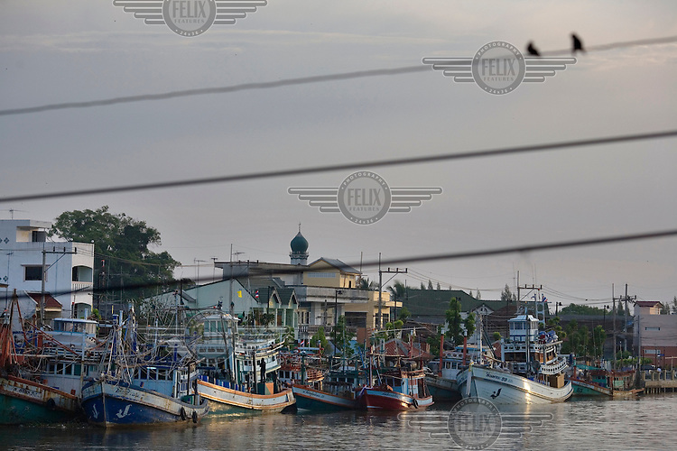 The waterfront of central Pattani.