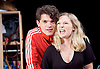 Touch <br /> by Vicky Jones <br /> at Soho Theatre, London, Great Britain <br /> press photocall 11th July 2017 <br /> <br /> <br /> <br /> <br /> Edward Bluemel as Paddy <br /> <br /> <br /> Amy Morgan as Dee <br /> <br /> <br /> <br /> <br /> Photograph by Elliott Franks <br /> Image licensed to Elliott Franks Photography Services