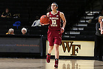28 January 2016: Florida State's Leticia Romero (ESP). The Wake Forest University Demon Deacons hosted the Florida State University Seminoles at Lawrence Joel Veterans Memorial Coliseum in Winston-Salem, North Carolina in a 2015-16 NCAA Division I Women's Basketball game. Florida State won the game 96-55.