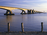 Zeeland Bridge across the Zigrikzee.        Date: 1994