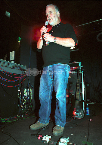 John Peel At Concorde 2, Brighton UK 27 October 2003. Credit: Ian Dickson/MediaPunch