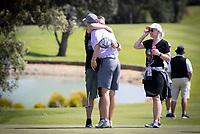 Sam Jones celebrates his win. New Zealand Amateur Golf Championship, Remuera Gold Club, Auckland, New Zealand. Sunday 3rd st November 2019. Photo: Greg Bowker/www.bwmedia.co.nz/NZGolf<br /> COPYRIGHT:© www.bwmedia.co.nz