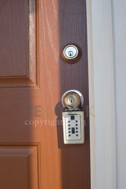Front Door with Lock