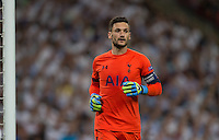 Goalkeeper Hugo Lloris of Tottenham Hotspur during the UEFA Champions League Group stage match between Tottenham Hotspur and Monaco at White Hart Lane, London, England on 14 September 2016. Photo by Andy Rowland.