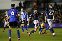 Ryan Leonard of Millwall in action during Millwall vs Sheffield Wednesday, Sky Bet EFL Championship Football at The Den on 12th February 2019