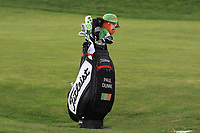 Paul Dunne (IRL) bag on the 16th fairway during Round 4 of the Open de Espana 2018 at Centro Nacional de Golf on Sunday 15th April 2018.<br /> Picture:  Thos Caffrey / www.golffile.ie<br /> <br /> All photo usage must carry mandatory copyright credit (&copy; Golffile | Thos Caffrey)