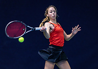 Hilversum, Netherlands, December 2, 2018, Winter Youth Circuit Masters, Rikke de Koning (NED)<br /> Photo: Tennisimages/Henk Koster