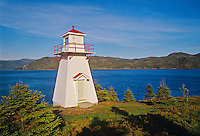 Woody Point Lighthouse <br /> Gros Morne National Park<br /> Newfoundland <br /> Canada