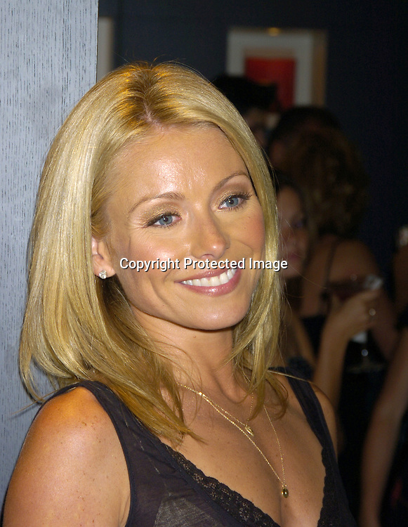 "Kelly Ripa ..at the Book Party for Finola Hughes' Book ""Soapsuds"" ..at The Montblanc Global Flagship Store on June 14, 2005. ..Photo by Robin Platzer, Twin Images"