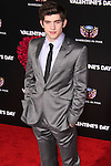 CARTER JENKINS. Red carpet arrivals to the star-studded world premiere of Valentine's Day at Grauman's Chinese Theater in Hollywood, California, USA. February 8, 2010.