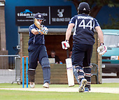 Cricket Scotland - Scotland V Namibia World Cricket League One-Day match today (Sun) at Grange CC - Calum MacLeod and Richie Berrington  batting - this match is the first of two WCL games this week against Namibia on the same ground - picture by Donald MacLeod - 11.06.2017 - 07702 319 738 - clanmacleod@btinternet.com - www.donald-macleod.com