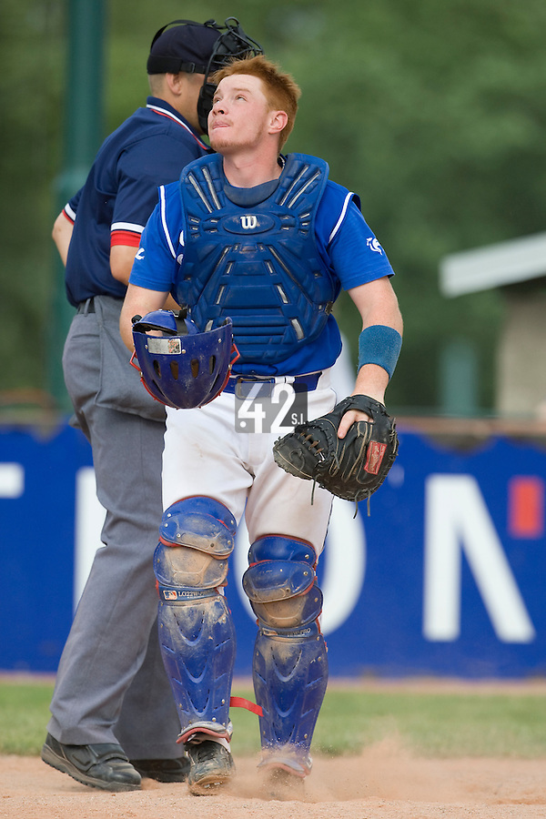 BASEBALL - GREEN ROLLER PARK - PRAGUE (CZECH REPUBLIC) - 27/06/2008 - PHOTO: CHRISTOPHE ELISE.DAVID GAUTHIER (TEAM FRANCE)
