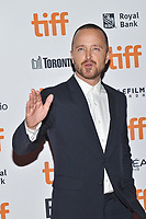 09 September 2018 - Toronto, Ontario, Canada -  Aaron Paul. &quot;American Woman'&quot; Premiere during 2018 Toronto International Film Festival at Princess of Wales Theatre. <br /> CAP/ADM/BPC<br /> &copy;BPC/ADM/Capital Pictures