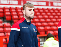 Bolton Wanderers' Connor Hall pictured before the match<br /> <br /> Photographer Andrew Kearns/CameraSport<br /> <br /> The EFL Sky Bet Championship - Nottingham Forest v Bolton Wanderers - Sunday 5th May 2019 - The City Ground - Nottingham<br /> <br /> World Copyright © 2019 CameraSport. All rights reserved. 43 Linden Ave. Countesthorpe. Leicester. England. LE8 5PG - Tel: +44 (0) 116 277 4147 - admin@camerasport.com - www.camerasport.com