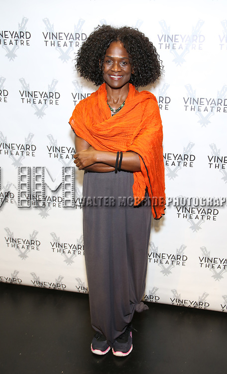 "Patrice Johnson Chevannes attends the Cast photo call for the Vineyard Theatre production of ""Good Gfief"" on September 12, 2018 at the Vineyard Theatre in New York City."