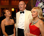 Actress Jane Seymour, InterContinental Houston hotel general manager Willem Pleght and Carolyn Farb at the UNICEF Designs of Hope Gala at the InterContinental Houston hotel Friday June 8,2007. (Dave Rossman/For the Chronicle)