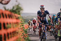 US champion Larry Warbasse (USA/Aqua Blue Sport) up La Redoute<br /> <br /> 104th Li&egrave;ge - Bastogne - Li&egrave;ge 2018 (1.UWT)<br /> 1 Day Race: Li&egrave;ge - Ans (258km)