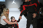 Actor/musican Ice-T, wife Coco Austin and their child Chanel walk runway in outfit from the Jordan Fall 2017 collection, during the Rookie USA Fall 2017 kidswear fashion show, presented by Haddad Brands at NYFW: The Shows Fall 2017 at Skylight Clarkson Square on February 15, 2017.