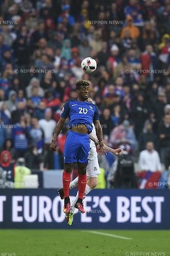 Kingsley Coman (France)  ; <br /> July 3, 2016 - Football : Uefa Euro France 2016, quarter-final, France 5-2 Iceland at Stade de France, Saint-Denis, France. (Photo by aicfoto/AFLO)