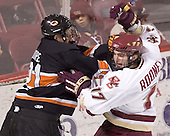 Mike Moore, Joe Rooney - Boston College defeated Princeton University 5-1 on Saturday, December 31, 2005 at Magness Arena in Denver, Colorado to win the Denver Cup.  It was the first meeting between the two teams since the Hockey East conference began play.