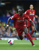 Sadio Mane of Liverpool during the Premier League match between Chelsea and Liverpool at Stamford Bridge on September 22nd 2019 in London, England. (Photo by Zed Jameson/phcimages.com)<br /> Foto PHC/Insidefoto <br /> ITALY ONLY