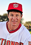 28 February 2010: Washington Nationals Spring Instructor Jeff Garber poses for his Spring Training photo at Space Coast Stadium in Viera, Florida. Mandatory Credit: Ed Wolfstein Photo