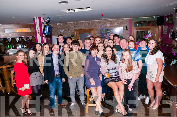 21st Birthday: martina guiney, Listowel celebrating her 21st birthday with family & friends at Christy's Bar, Listowel on Saturday night last.
